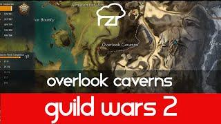 Guild Wars 2 Overlook Caverns Vista