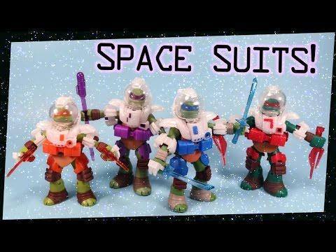 Teenage Mutant Ninja Turtles Dimension X Space Suits ...