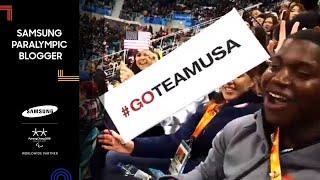 Megan Psyllos | Team USA wins GOLD!! | Samsung Paralympic Blogger | PyeongChang 2018