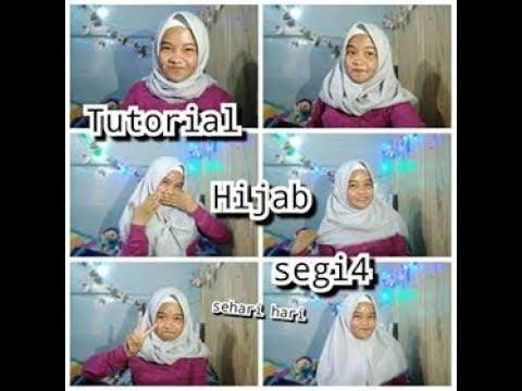 Tutorial Hijab Segi Empat Anak Sekolah Atau Jalan V Ipeh Youtube