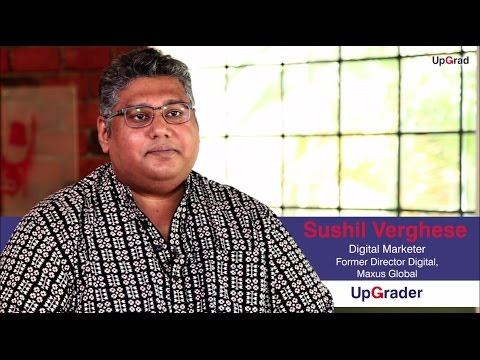 Digital Marketing Course | Success Story | Sushil Verghese | UpGrad