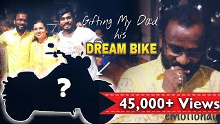 Surprising my dad with his Dream bike ***emotional***