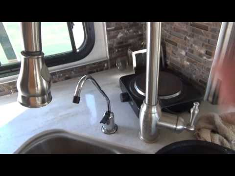 Drinking water solutions for RV's