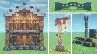 minecraft building tips tricks