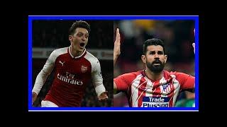 Breaking News | Highlights, Arsenal vs Atletico Madrid, Europa League semi-final 1st leg: Ten-man A