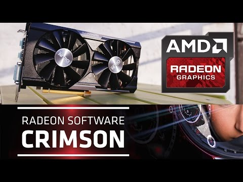 AMD Crimson Software – How Drivers Should be Done!