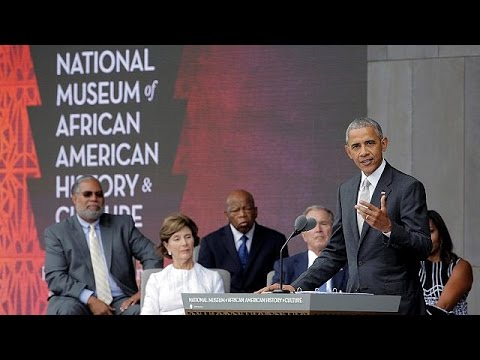 Obama opens US black history museum