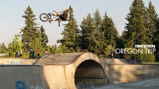 DEMOLITION BMX: Oregon Camṗing Trip