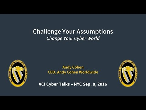 Andy Cohen - Challenge Your Assumptions