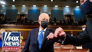FOX News reacts to Biden's first joint address to Congress