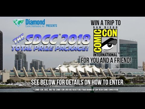 Diamond Comic Distributors Presents: The San Diego Comic-Con® Total Prize Pack