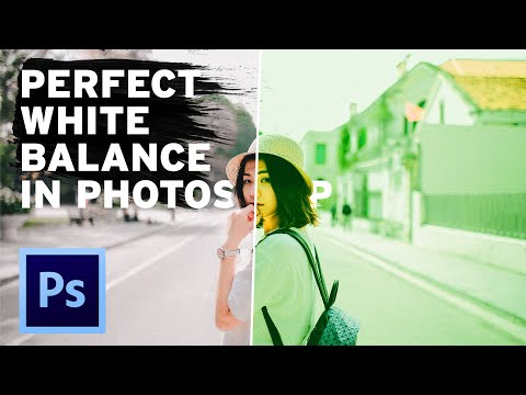 How To NAIL WHITE BALANCE In Photoshop!