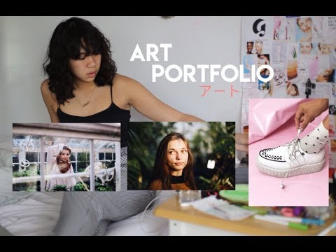 MY ART PORTFOLIO // accepted at PARSONS & PRATT