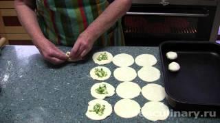 Пирожки с луком и яйцами - Рецепт Бабушки Эммы