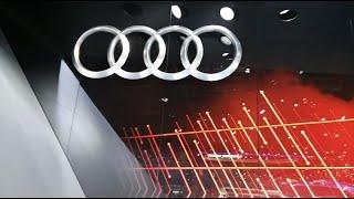 Le stand Audi au salon de l'auto de Genève 2015