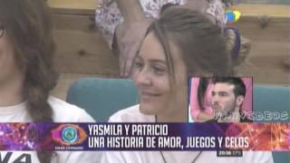 Debate 23 08 Pato Y Yasmila Una Historia De Amor Juego Y Celos Gran Hermano 2016