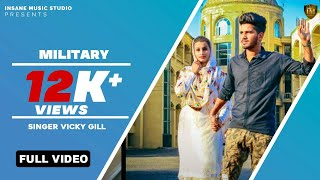 MILITARY | Full HD Audio | Arun Goswami | New Punjabi Song | Qatar Gs Records