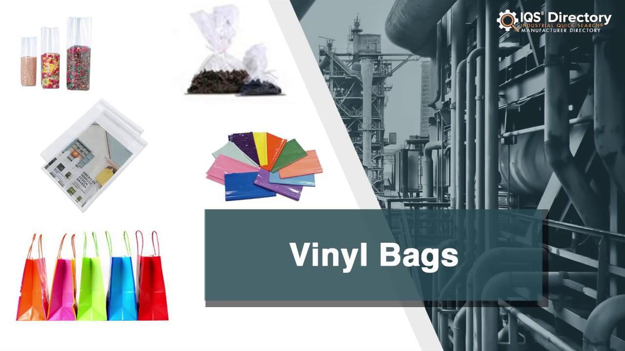 Vinyl Bag Manufacturers Suppliers   IQS Directory