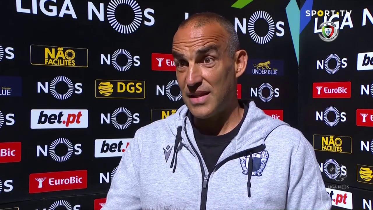 """João Pedro Sousa: """"Merecemos o golo e o resultado"""""""