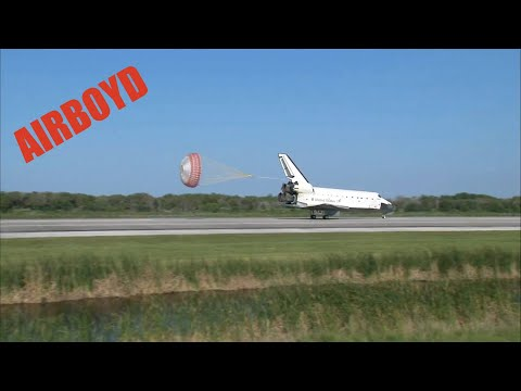 Space Shuttle Atlantis Returns To Earth (STS-132)