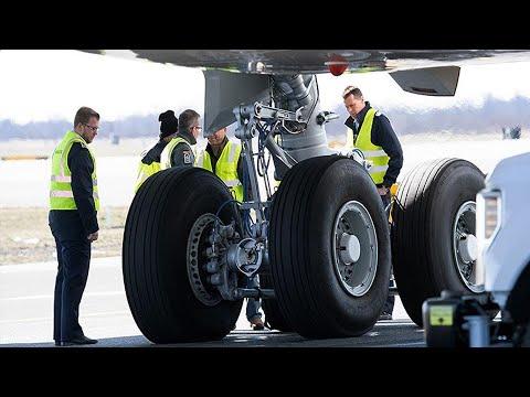 Вернувшийся в аэропорт из-за проблем с шасси самолет вылетел в Тюмень