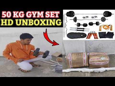 Home Gym Set 50Kg Unboxing And Review