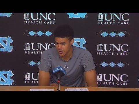 UNC Men's Basketball: Cam Johnson pre-Syracuse Press Conference