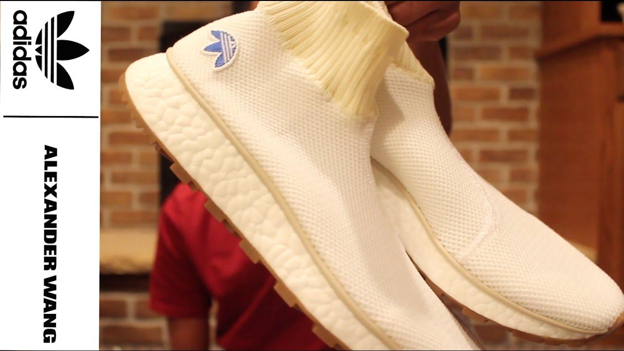 04876a845 Adidas X Alexander Wang Runner  Clean  - YouTube