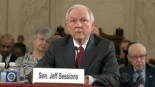 Sen. Jeff Sessions defends self, splits with Trump in confirmation hearing Free HD Video