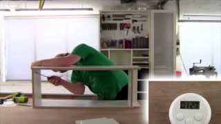 Assembling The Ikea Billy Bookcase In Less Than 5 Minutes.