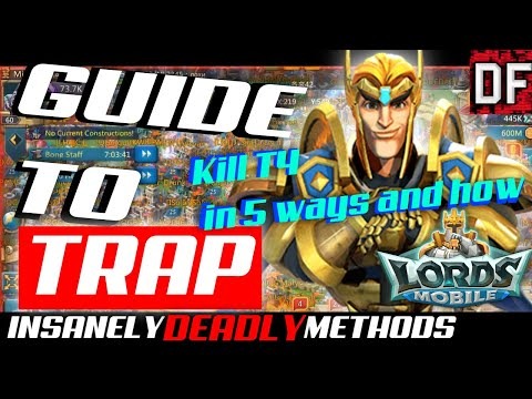 Lords Mobile Beginner Guide For Making 5 Different Trap Accounts
