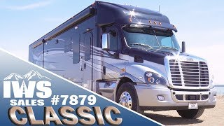 2019 Black/Silver Renegade Classic - Freightliner Cascadia Chassis - IWS Motor Coaches stock #7879