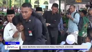Download Video Aksi Berani Mahasiswa Riau saat Jokowi Berpidato MP3 3GP MP4