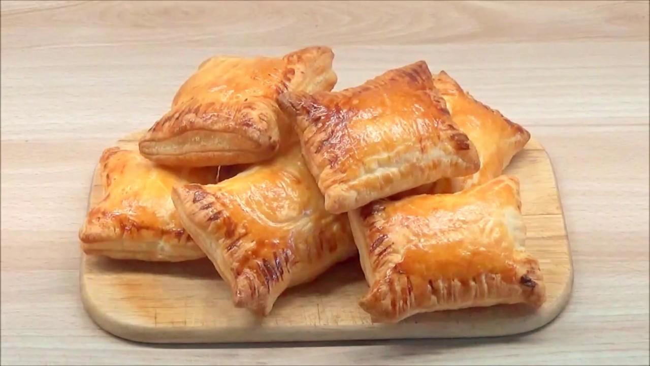 Cara membuat puff pastry keju  Super easy cheese puff pastry