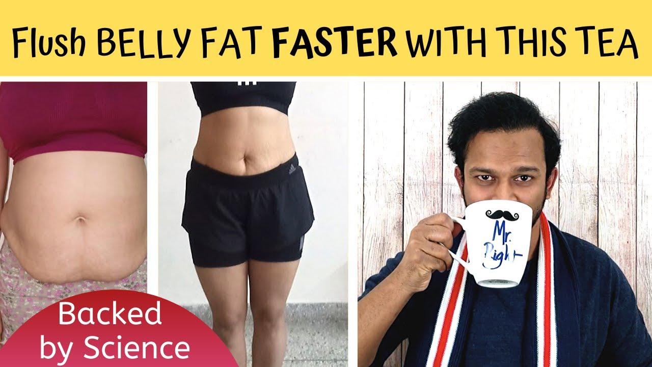 flat belly pu erh slimming ceai