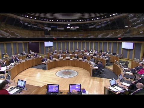 National Assembly for Wales Plenary 16.01.18