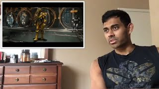 Mortal Kombat 11 - Official Launch Trailer Reaction They brought the old school theme!!