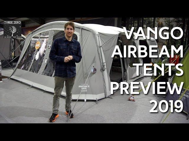 Vango AirBeam Tents Preview 2019