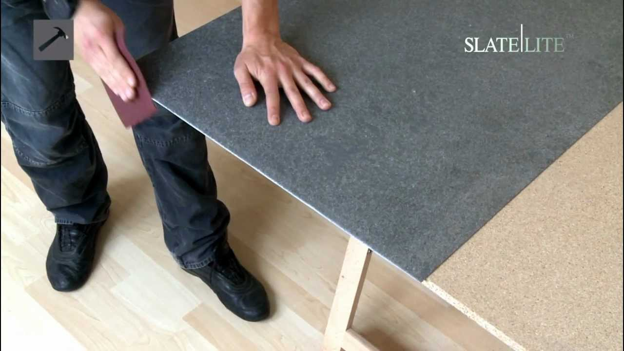 Thin Slate/Slate Lite Installation Video - YouTube