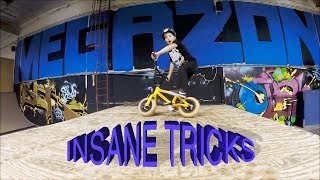 INSANE 7 YEAR OLD MINI BMX TRICKS