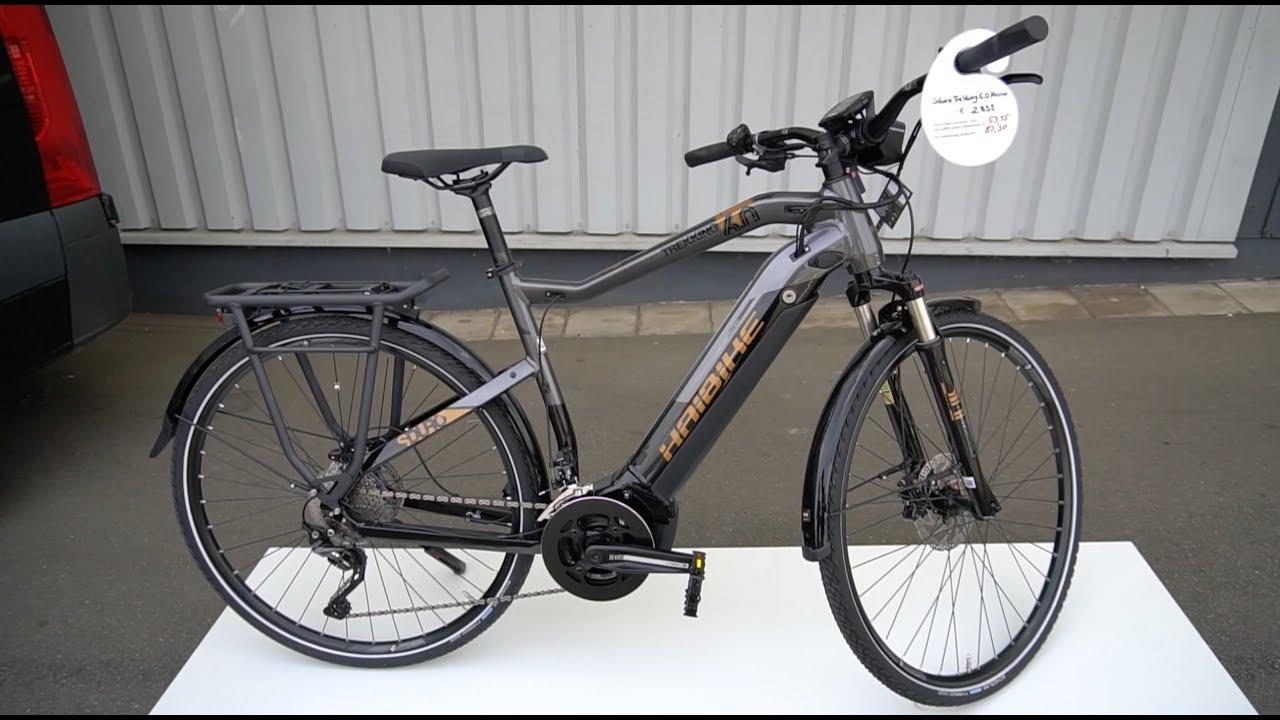 haibike sduro trekking 6 0 2019 e bike pedelec walkaround review test kai gimmler bikes youtube. Black Bedroom Furniture Sets. Home Design Ideas