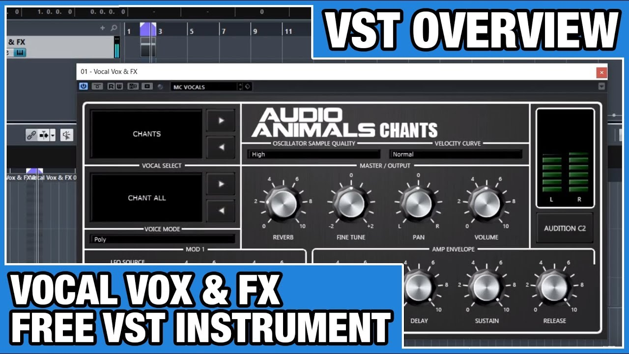 Vocals Vox & FX - Free VST Instrument Overview