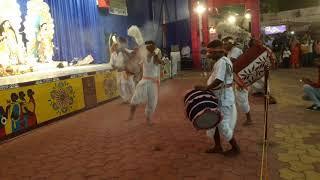 Dhun uchi Arti Compitition Ashtami Puja @ City Bengali Club