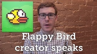 Repeat youtube video Flappy Bird creator explains why he deleted the game
