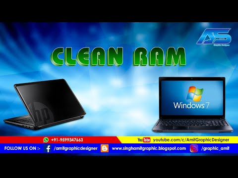 How To Clean Ram In Windows 7