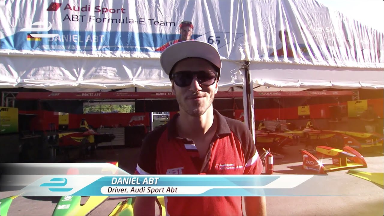 Formula e audi sport abt garage tour with daniel abt youtube for Garage audi tours