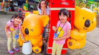 หนูยิ้มหนูแย้ม ผจญภัยสวนสัตว์เชียงใหม่ YimYam Pretend Play in the Chiangmai Zoo