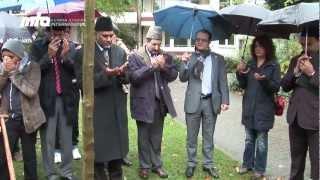 2013-01-18 Baumpflanzung in Ratingen als Zeichen für Integration und Frieden