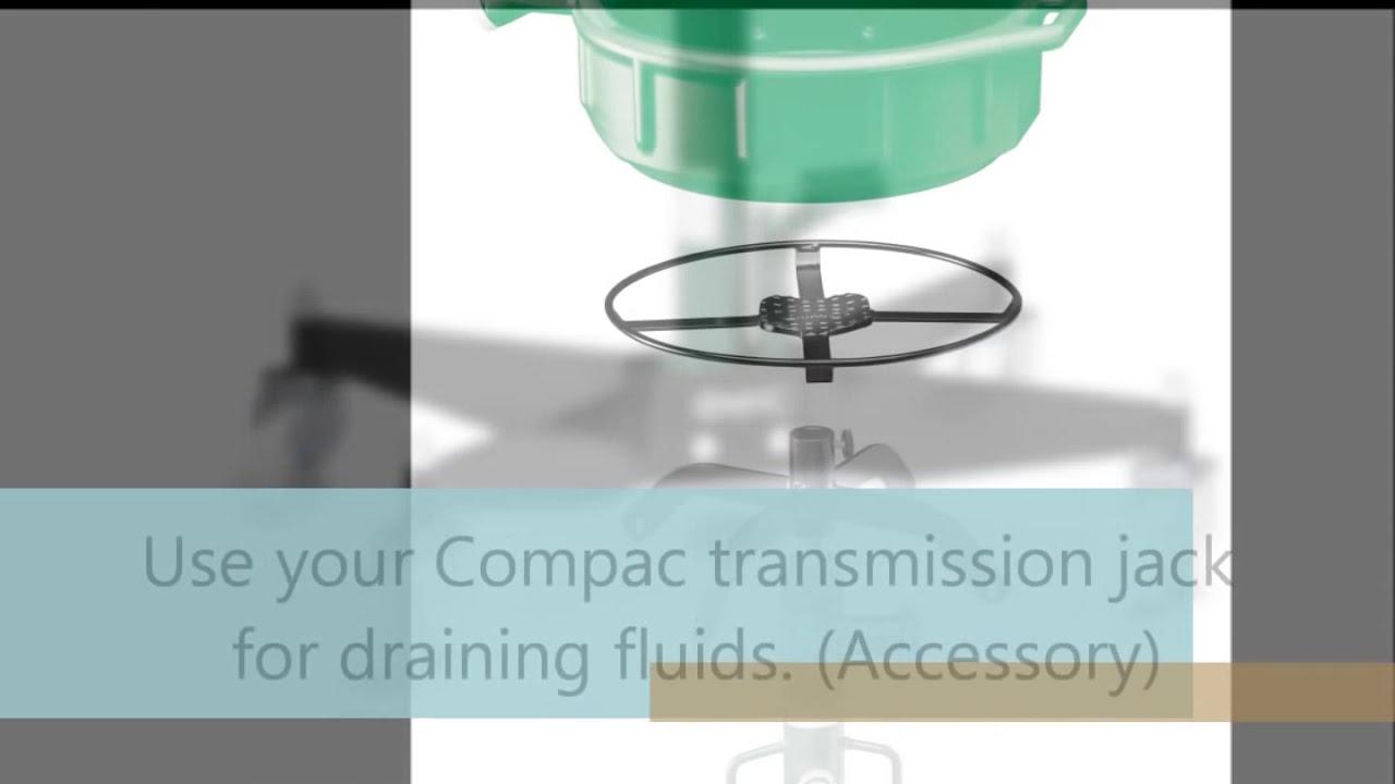 Compac Tj 525 Universal Transmission Jack  Compac Hydraulik 01:59 HD