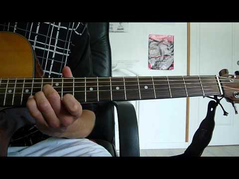the funeral band of horses guitar lesson
